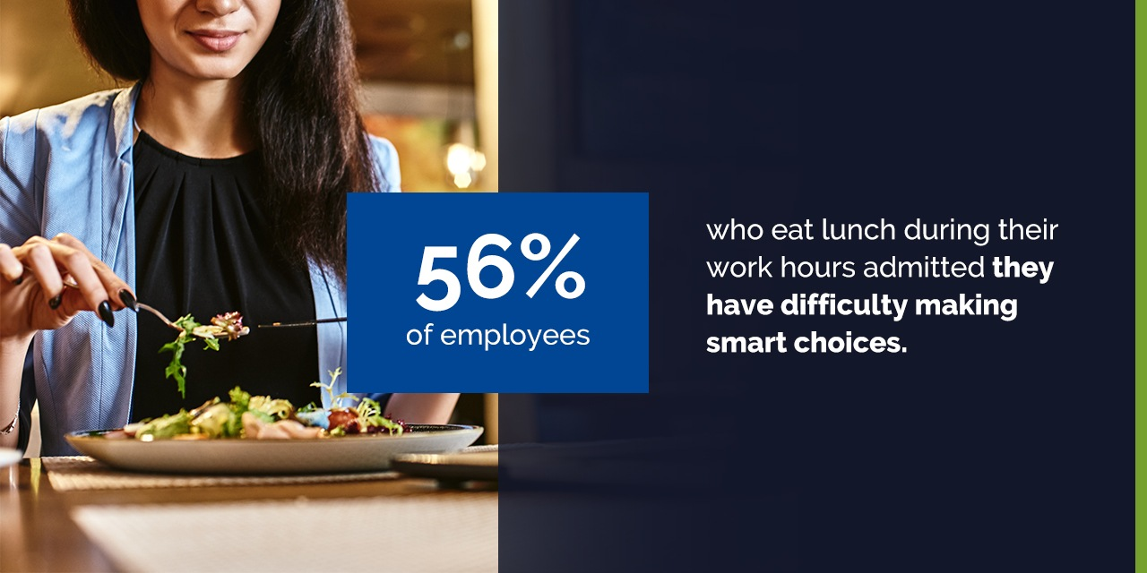 Why Are Employees Struggling to Eat a Healthy Meal at Work?