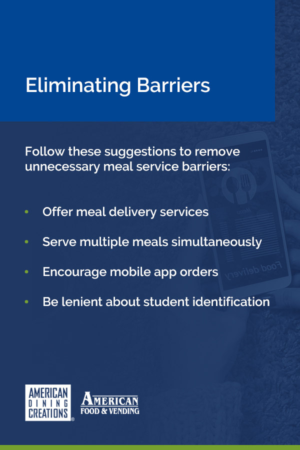 Eliminating Barriers