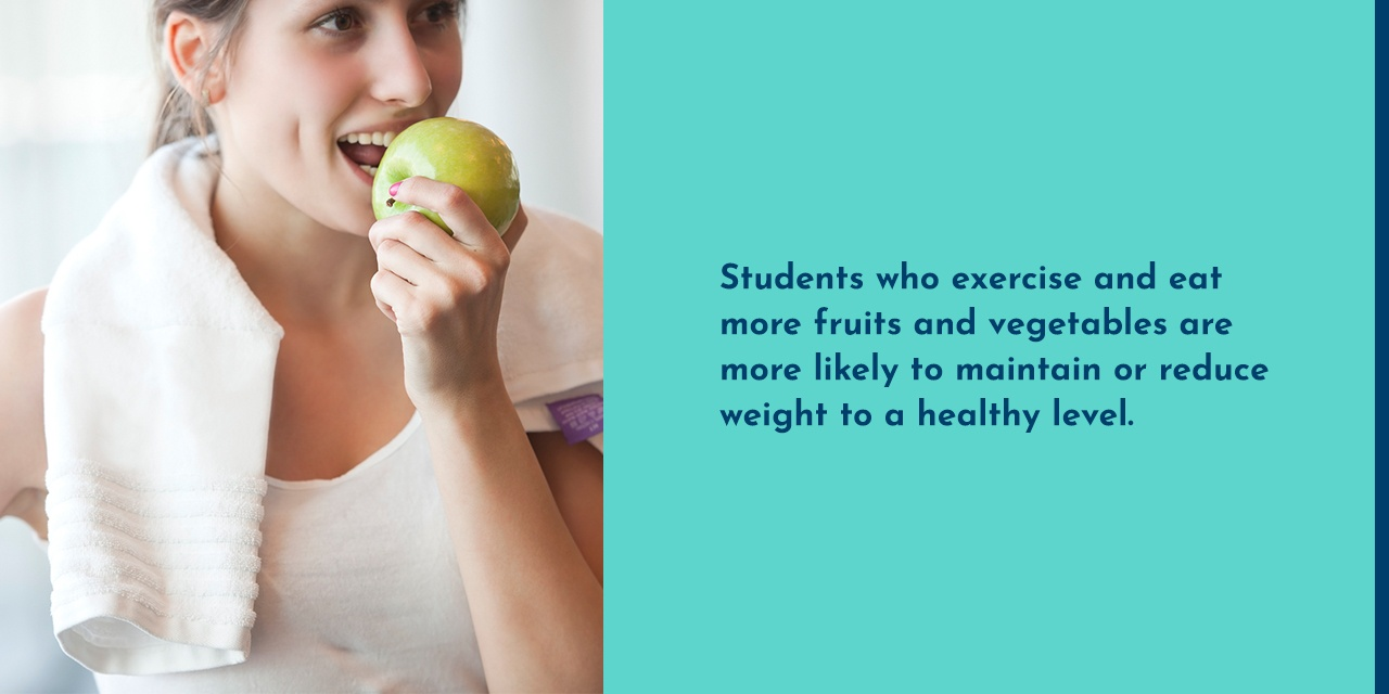 benefits of diet and exercise for weight