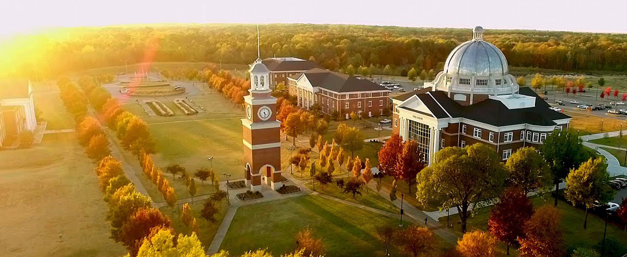 Sky view of Union College